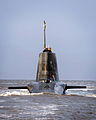 HMS Astute Arrives at Faslane for the First Time MOD 45150809.jpg