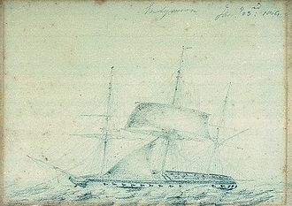 Theobald Jones - The 40-gun fifth-rate frigate HMS ''Emdymion'', on which Jones served during the Dardanelles Operation in 1807