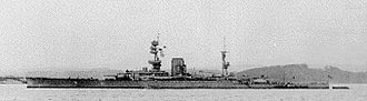 HMS Glorious - Glorious in 1918