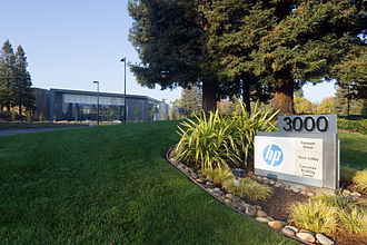Hewlett-Packard - HP headquarters in Palo Alto, California, U.S.