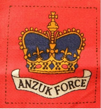 ANZUK - HQ ANZUK and Support Units patch