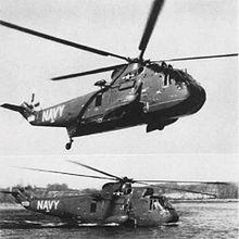 Il prototipo del Sikorsky YHSS-2 Sea KingBuNo 147137 che effettuò il primo volo l'11 marzo 1959.
