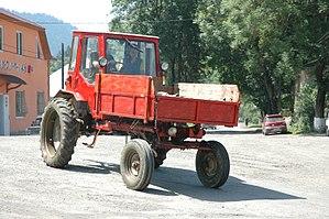 Kharkiv Tractor Plant - Image: HTZ T 16MG Torun 2012 2