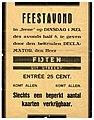 HUA-97691-Afbeelding van een affiche met de aankondiging van een feestavond met de declamator de heer Fijten in het gebouw Irene Keistraat 2 te Utrecht.jpg