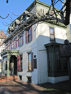 Hunter–Lawrence–Jessup House United States historic place
