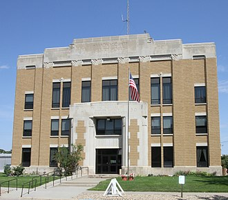 Haakon County, South Dakota - Image: Haakon County Courthouse SD