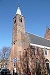 haarlem - toren waalse kerk aan het begijnhof