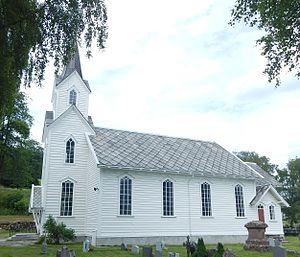 Hafslo (village) - View of Hafslo Church