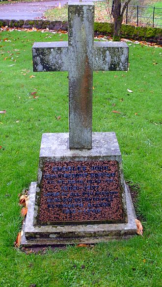 Charles Lyttelton, 10th Viscount Cobham - St John the Baptist Church, Hagley, grave of Charles Lyttelton, 10th Viscount Cobham.