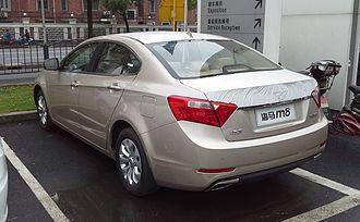 Haima M8 - Haima M8 rear