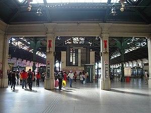 Retiro Belgrano railway station - Image: Hall de Retiro Belgrano