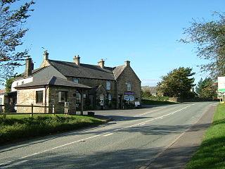 Hallbankgate village in United Kingdom