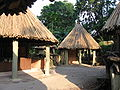 Hamadryas Baboons Village, Singapore Zoo, Oct 05.JPG
