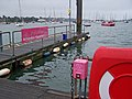 Hamble-Warsash ferry landing stage - geograph.org.uk - 1437684.jpg