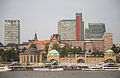 Hamburg Skyline from Steinwerder (15148988569).jpg