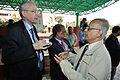 Hans-Martin Hinz and Saroj Ghose - Science City - Kolkata 2014-02-13 2251.JPG