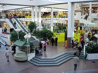 Hansa (shopping centre) - Hansa Marketsquare inside Hansa