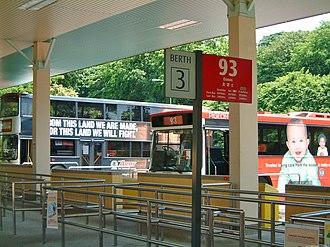 HarbourFront Bus Interchange - Image: Harbourfront Bus Interchange
