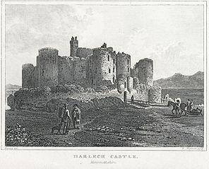 Harlech Castle, Merionethshire