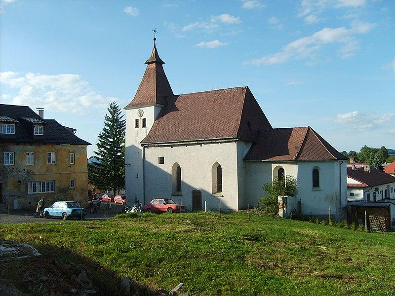 kostel sv. Kateřiny v Hartmanicích