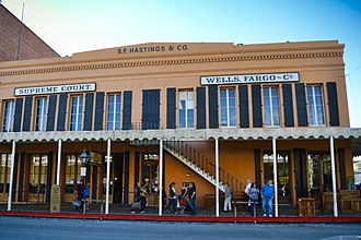California Historical Landmarks in Sacramento County, California - Image: Hastings Building
