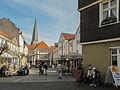 Hattingen, straatzicht2 met Sankt Georgskirche foto13 2012-03-27 16.02.JPG