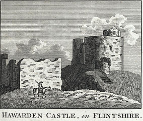 Hawarden Castle in Flintshire