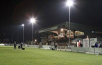 Hayes Lane - Image: Hayes Lane Stadium (geograph 3359000)