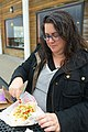Heather at Taco Bell, pacifica.jpg