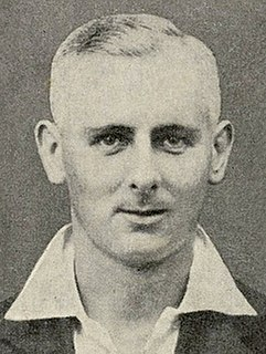 Hedley Verity Cricket player of England.
