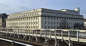 Waffenamt - Former Heereswaffenamt, Jebensstraße corner Hertz Avenue, Berlin