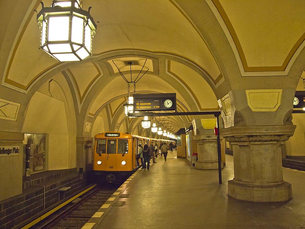 Heidelberger Platz Berlin U3 562-d
