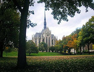 Schenley Farms Historic District - Image: Heinz Chapel South