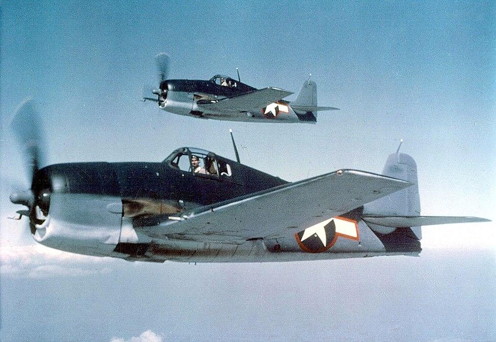 Hellcats F6F-3, May 1943