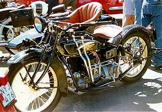 Henderson Motorcycle - Henderson De Luxe 1300 cc SV 1927