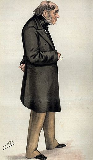 Henry Bessemer - Drawing of Bessemer by Leslie Ward in ''Vanity Fair, 6 November 1880