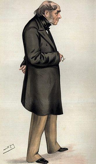 Henry Bessemer - Drawing of Bessemer by Leslie Ward in ''Vanity Fair, 6 November 1880