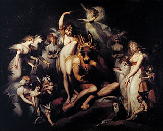 <i>Titania and Bottom</i> c. 1790 painting by the Anglo-Swiss painter Henry Fuseli