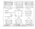 Henry Whitehead Place, Smokehouse, Townsend, Blount County, TN HABS TENN,5-CADCO.V,1A- (sheet 2 of 2).png