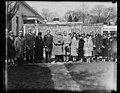 Herbert Hoover and group outside White House, Washington, D.C. LCCN2016889202.jpg