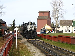 Heritage Park Historical Village - Railway at Heritage Park