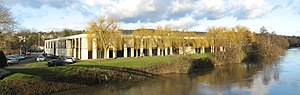 Bath School of Art and Design - The former Herman Miller factory in Lockbrook, now becoming the new home of the school