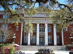 Hernando Countys domstolshus i Brooksville.