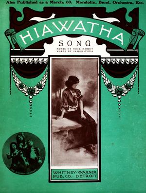 Hiawatha (A Summer Idyl) - Cover of vocal version (1903).