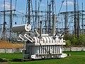 High-voltage transformer 750 kV Трансформатор 750 кВ.jpg