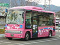 Hiroden Hatsukaichi Sakura Bus Hino Poncho 310.JPG