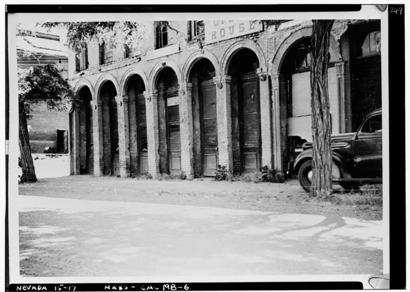 File:Historic American Buildings Survey N. L. McAfee, Photographer June 1940 - Piper's Opera House, B and Union Streets, Virginia City, Storey County, NV HABS NEV,15-VIRG,17-6.tif