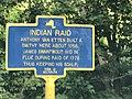 Historic marker on Neversink Drive re attack on Van Etten house 1779.jpg