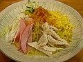 Hiyashi chuka by jetalone at a ramen restaurant in Ginza, Tokyo.jpg