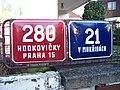 Hodkovičky, V mokřinách, domovní čísla 280 a 21.jpg